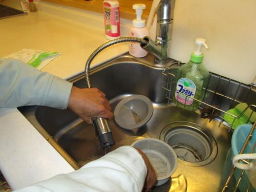 キッチン水抜き3