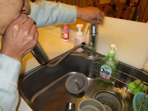 キッチン水抜き4
