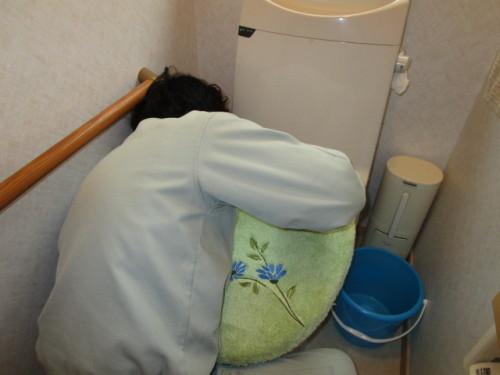 トイレ水抜き1